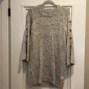 Madewell Marled Sweater Dress